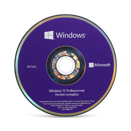 China 64 DVDS del profesional de Windows 10 del pedazo, activación en línea dominante del OEM de Windows 10 para el área global distribuidor